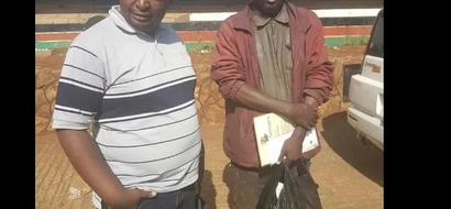 Miracles start pouring in for jobless graduate who lives in the streets of Nairobi as a beggar