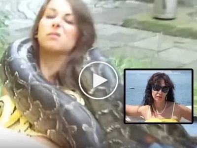 Deadly Cobra Bits Woman While Taking This Epic Selfie...