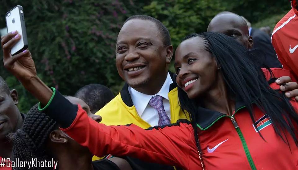 Uhuru Kenyatta praises Kenyan team