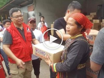 Matulunging DSWD magbibigay ng bagong relief package para sa mga kawawang biktima ng bagyo