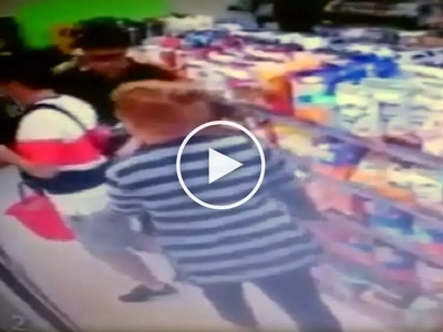 Pampanga snatcher: Daring Pinay thief victimizes unsuspecting Korean tourist in 711 store