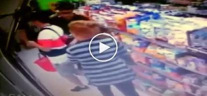 Pampanga snatcher: Daring Pinay thief victimizes unsuspecting Korean tourist in 711 store
