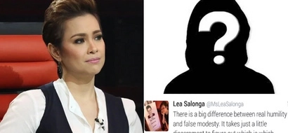 Intrigera si Ate! Lea Salonga leaves netizens wondering whom she's referring to in her cryptic tweet and the name has letter 'S'