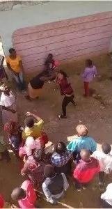 ESTAS mujeres tuvieron una pelea feroz a causa de un hombre