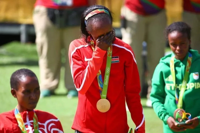 Blow as Kenya's Rio Olympic gold medal winner is FAILS doping test