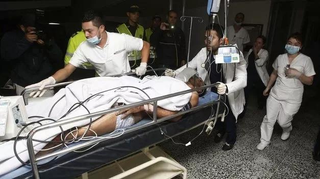 Portero se salvó del accidente aereo pero le tuvieron que amputar una de sus piernas