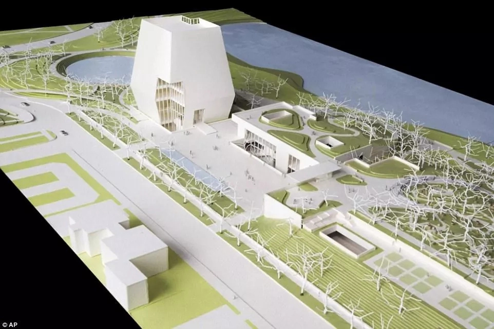 An artist's representation of the envisaged Presidential Center