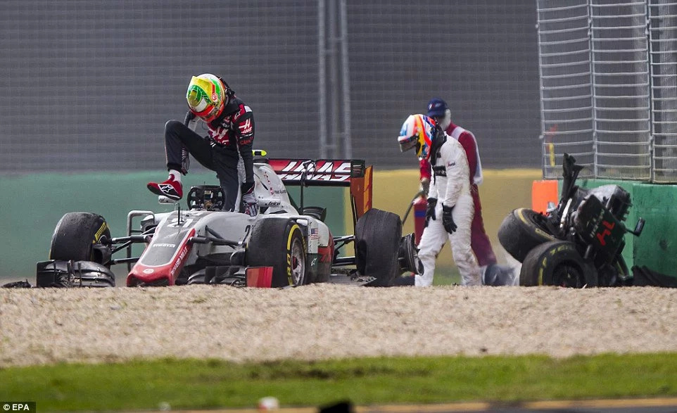 Rosberg wins as Alonso miraculously cheats death in Melbourne accident