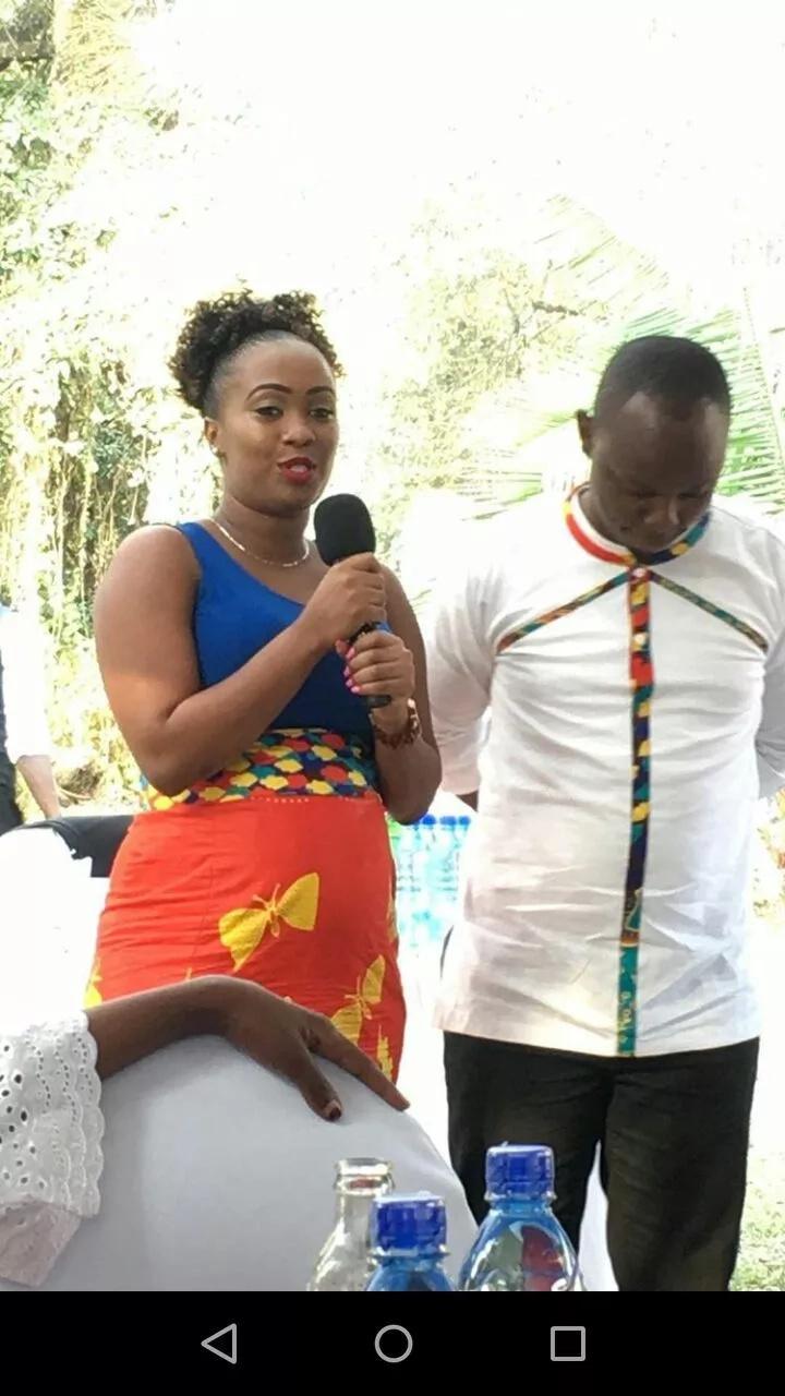 Popular Kenyan actress finally gets married after dumping gospel singer