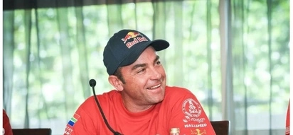 No wonder he's a success, Dakar champion Giniel de Villiers has racing in his blood