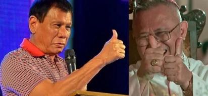 Supportive Cebu archbishop says tough Duterte should grade himself higher than 6