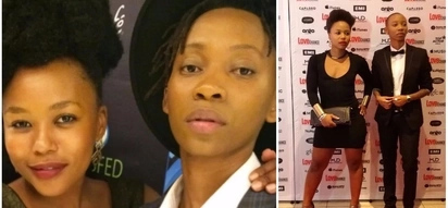 All we're trying to do is love! South Africa's celebrity lesbian couple explain their decision to come out