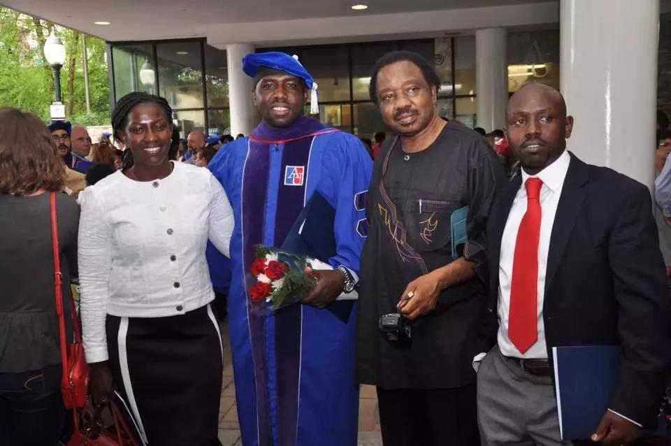 DP Ruto's best friend graduates with a Phd(photos)