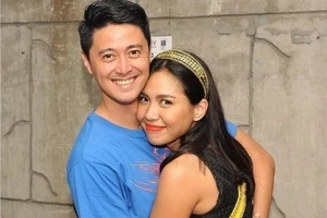 Ang bilis! 'Crazy in love' Aicelle Santos celebrates 6th month with GMA reporter Mark Zambrano