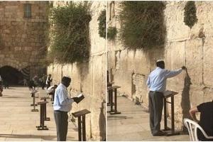 Photos of Raila praying at historic site in Jerusalem excite Kenyans