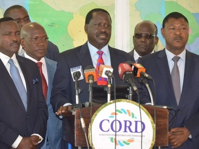Shock as CORD co-principal plans to run for governor after smelling defeat