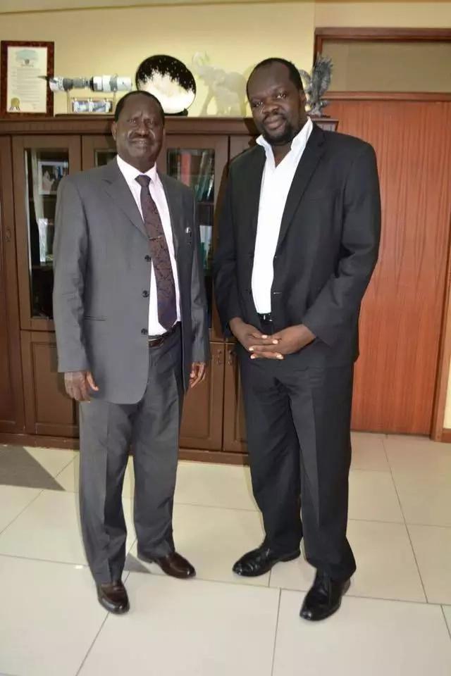 Robert Alai claims Raila Odinga is a Jubilee mole