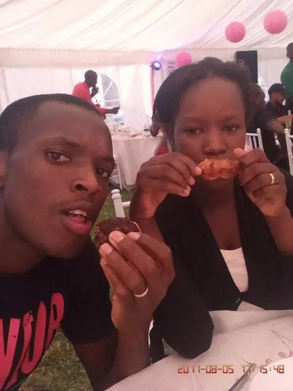Baby almost: KSh 100 couple holds baby shower