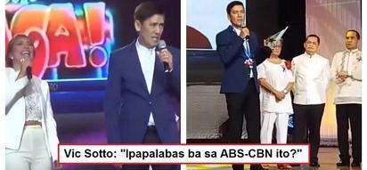 Humirit pa talaga! Vic Sotto's joke after singing 'Eat Bulaga' theme song at PMPC Star Awards for TV goes viral