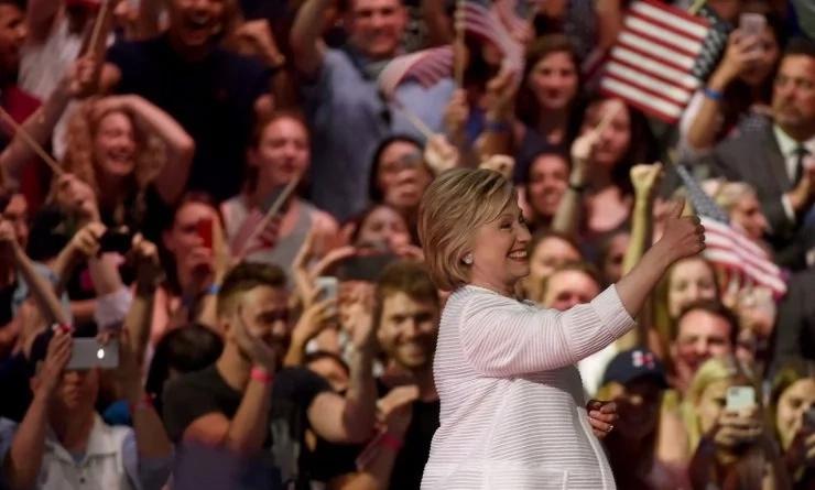 Hillary Clinton hace historia