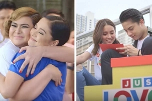 "Watch: Christmas Station ID of ABS-CBN urges viewers to ""Just Love"""