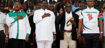 KANU official in trouble for going to bed with Raila Odinga