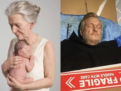 Artist makes amazing sculptures that are mistaken as 'real people'