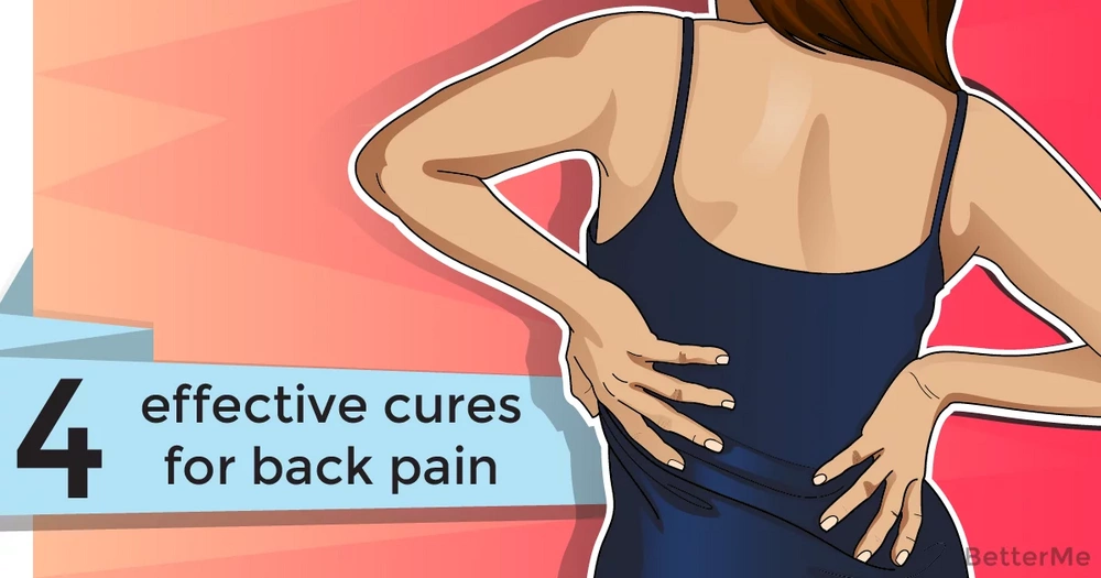 4 effective cures for back pain