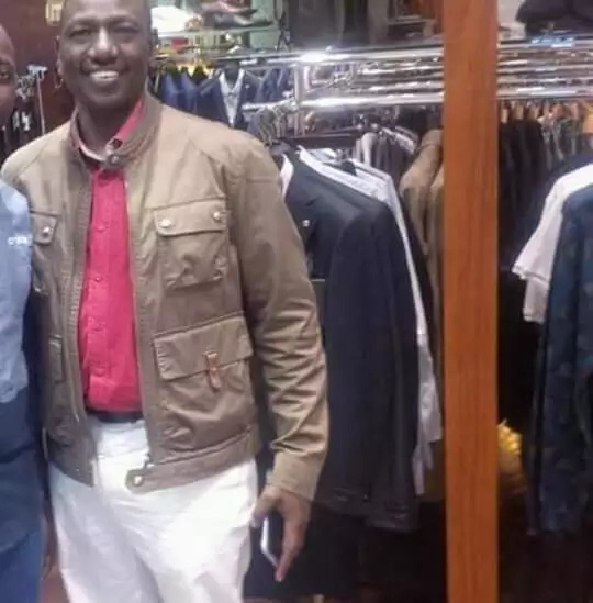 The brown jacket which has become a hit with the Kalenjins