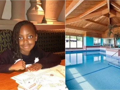 Parents share their unbearable pain after their daughter, 7, drowns at her friend's birthday