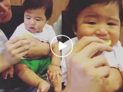 Baby Seve eats a lemon for the first time and his reaction is just too cute not to share!