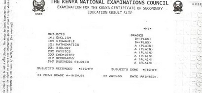 How KCSE results washed mourning tears at slum home of girl on scholarship