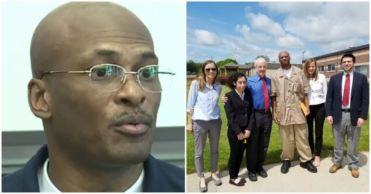 51-year-old man released after serving 25 years for crime he didn't commit (photos, video)