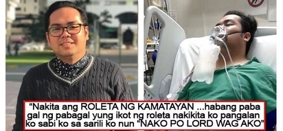 """Isa akong sunog baga.."" This guy slept for a month in the hospital after making alcohol a past time"