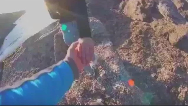 Man PUSHES girlfriend off cliff in shocking clip that will give your shivers (photos, video)
