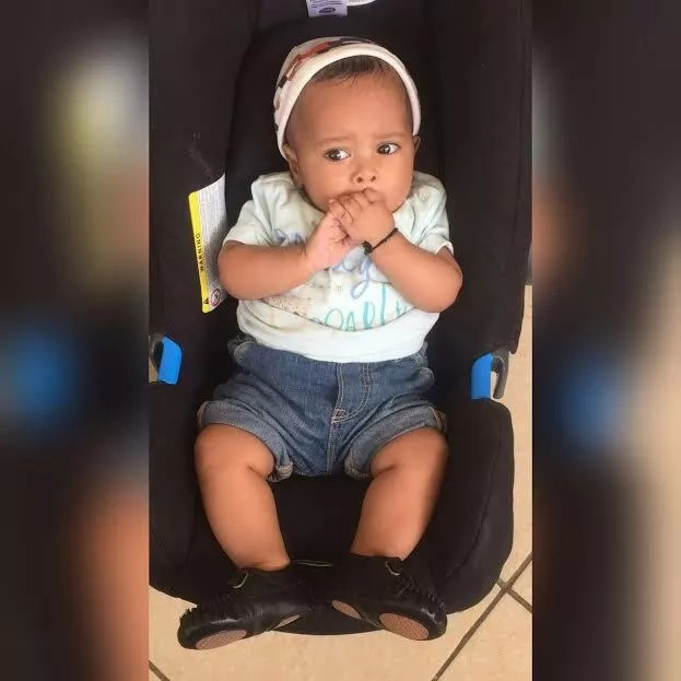 KTN presenter walks show the face of his baby for the first time