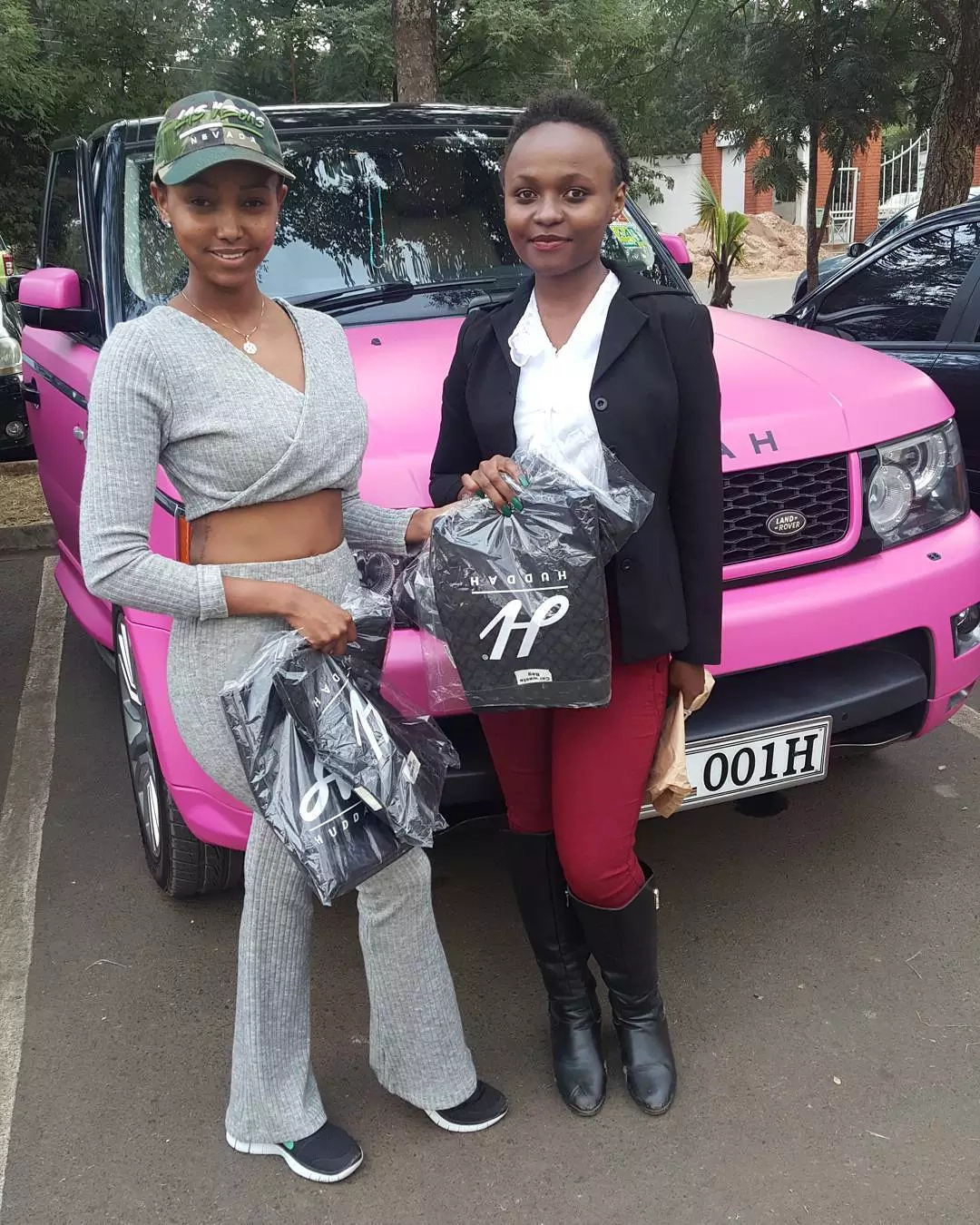 Not Broke! Top socialite now selling waste paper bags