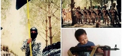 Kids with guns! Hundreds of toddlers taught to be TERRORISTS rescued from ISIS (photos)