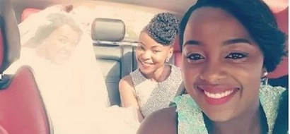 Here are more LOVELY photos from Njugush wedding that you haven't seen
