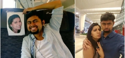Indian husband had to fly on the honeymoon alone. The way he solved this problem is incredible!