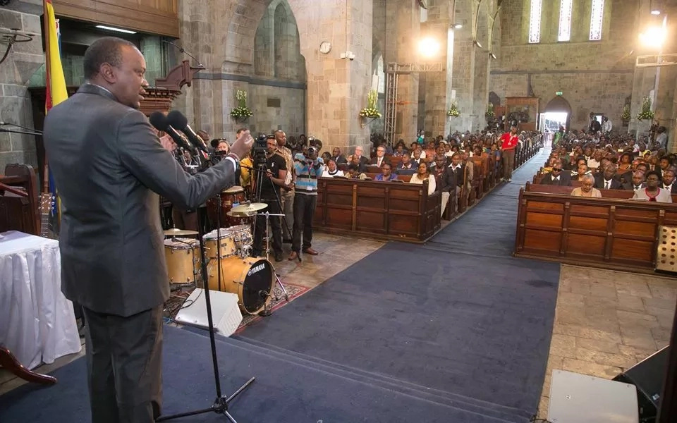 Uhuru's refusal to partake in sacrament at the ACK church explained