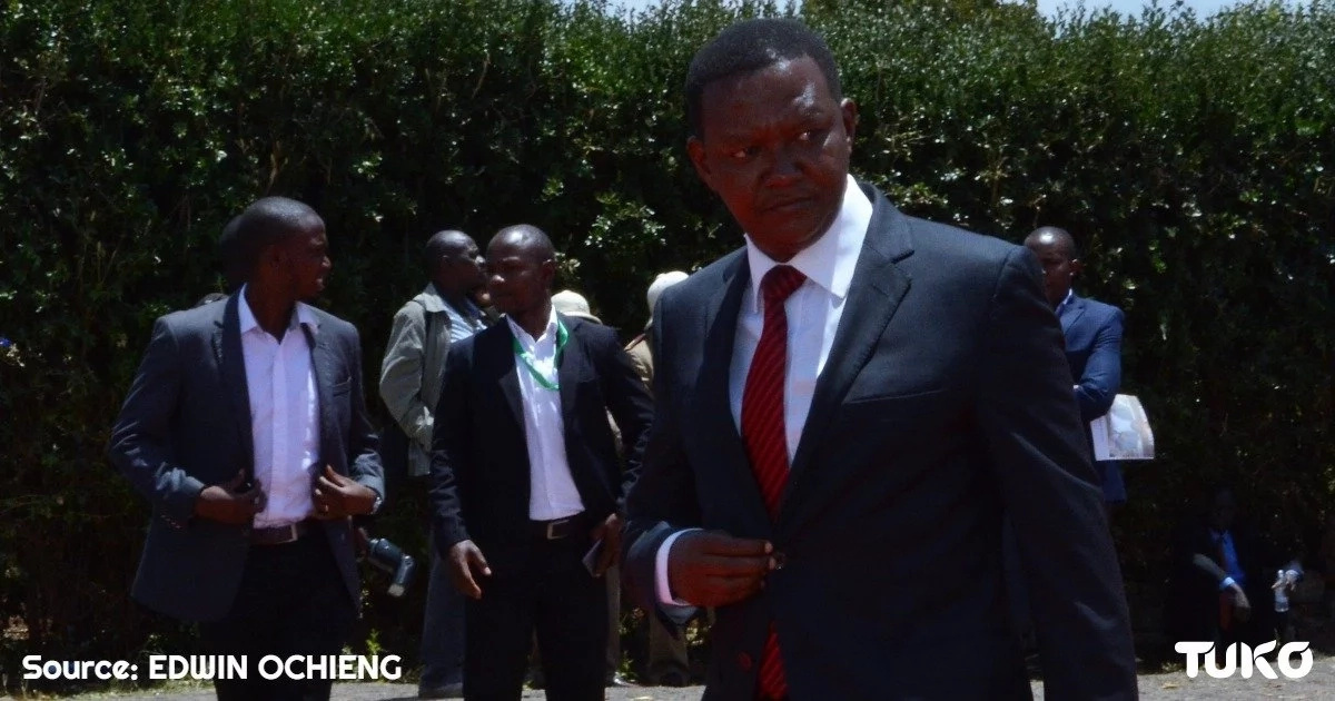Mutua's career in danger because of his wife