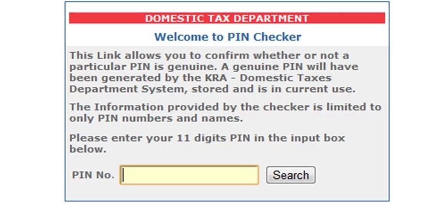 How to get KRA PIN