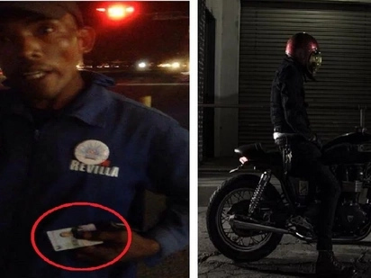 Motorcycle rider reveals enforcer's newest 'modus' in Cavite