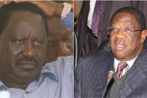 ODM Senator Amos Wako sharply differs with Raila Odinga