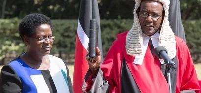 David Maraga aapishwa kuwa Jaji mkuu (picha)