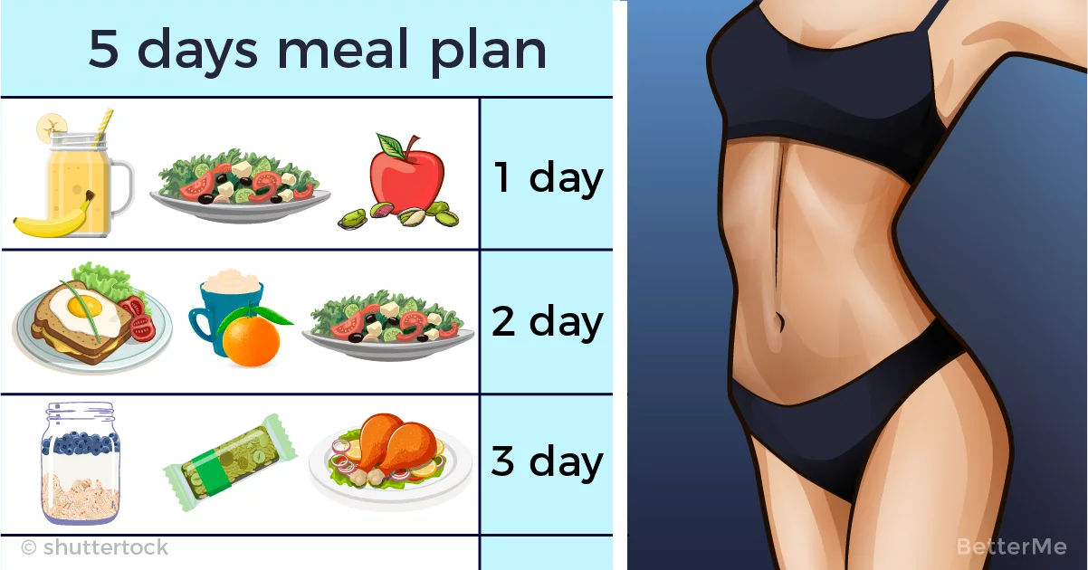 This 5-day 1500-calorie diet meal plan can help you reduce some pounds