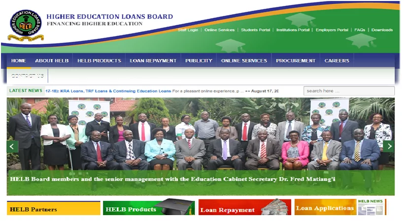 helb application for subsequent students