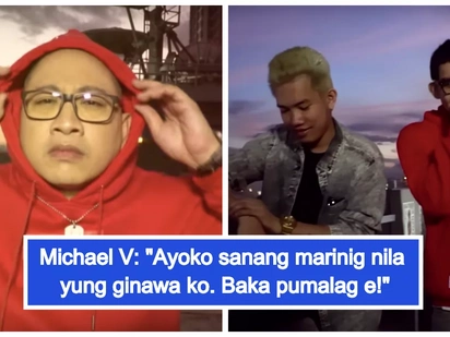 Umalma na! Ex Battalion reacts on Michael V.'s 'diss track' and song parody 'Gayahin Mo Sila'