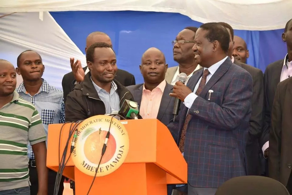 Major boost for Raila as key Jubilee leaders from Rift Valley join ODM